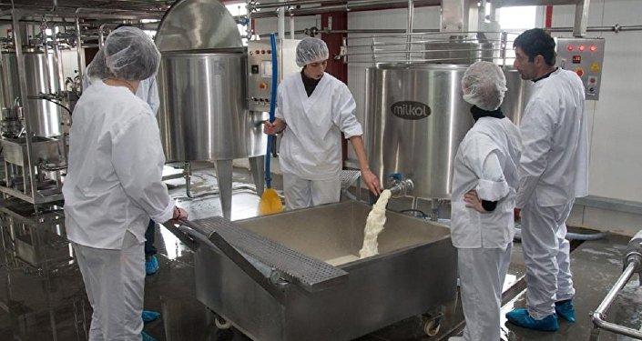 Предприятие по переработке молока