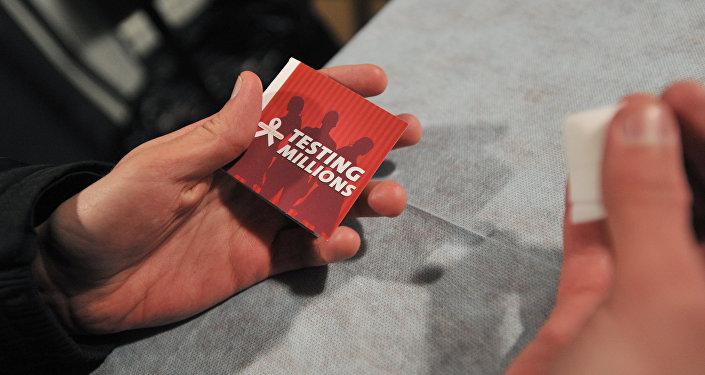 Экспресс-тестирование на ВИЧ