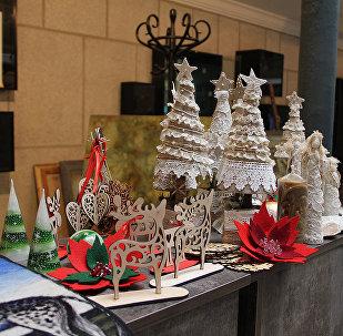 новогодние украшения - Рождественская ярмарка