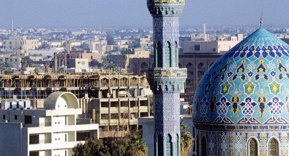 Багдад. Вид города