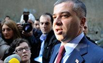 Член партии Единое национальное движение Давид Бакрадзе