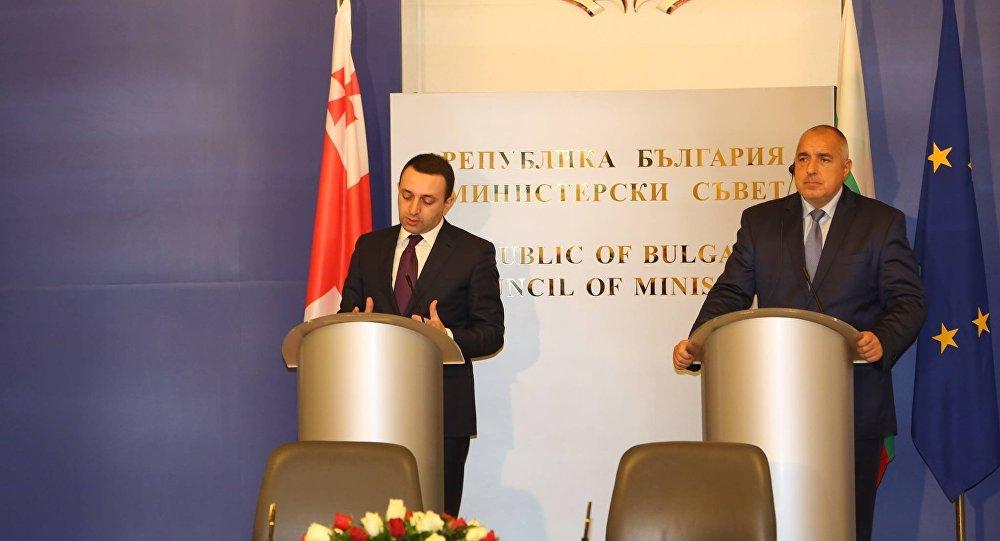 Главы правительств Грузии и Болгарии обсудили сотрудничество