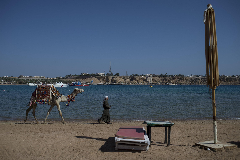 Сокращение числа туристов в Египте