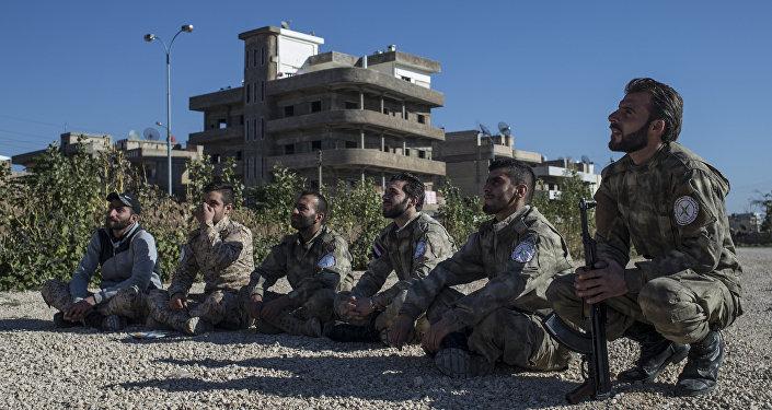 Ассирийские силы самообороны Соторо в городе Камышли