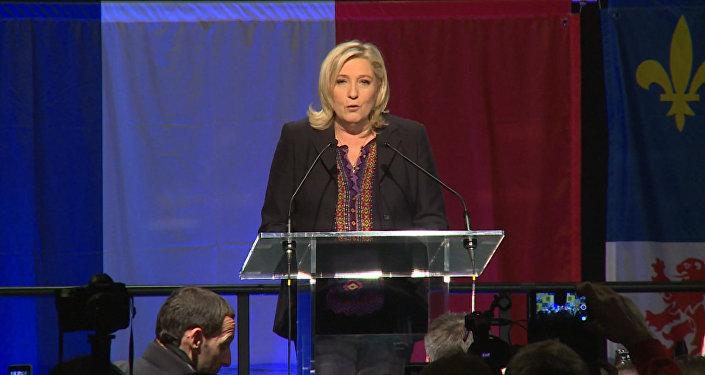 Марин ЛеПен призвала страны европейского союза быть неменее самостоятельными
