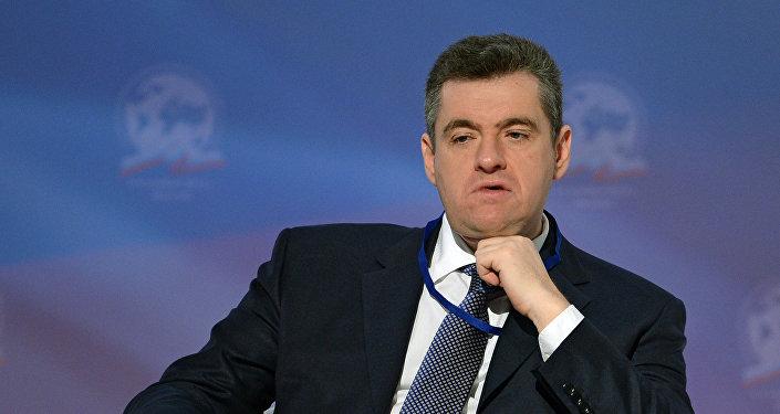 Председатель комитета по делам СНГ и связям с соотечественниками Леонид Слуцкий