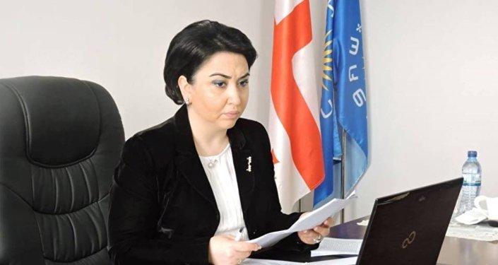 Глава парламентского комитета по правам человека Эка Беселия