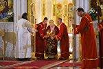 Илия Второй проводит рождественское богослужение