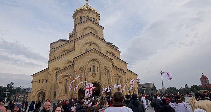Патриарх Грузии неприсутствовал налитургии из-за плохого самочувствия