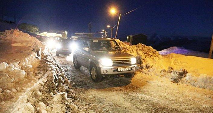 Восстановлено движение по Военно-Грузинской дороге