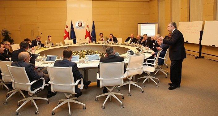 Заседание правительства Грузии