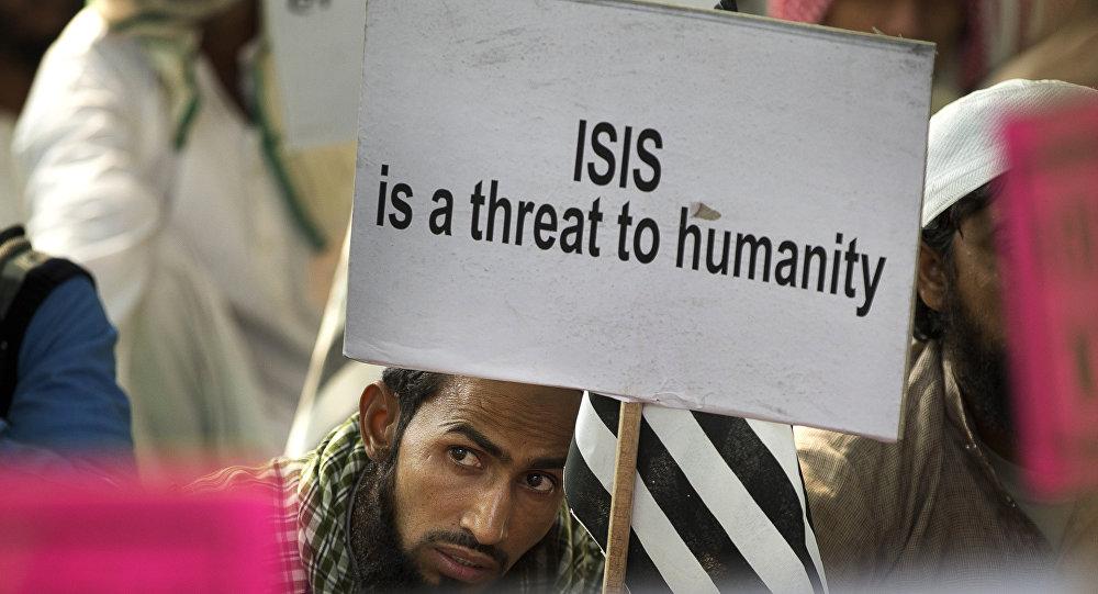 Акция индийских мусульман против ИГИЛ, архивное фото