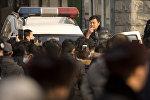Сотрудник китайской полиции, архивное фото