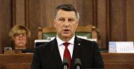 Пятый президент Латвии Раймонд Вейонис