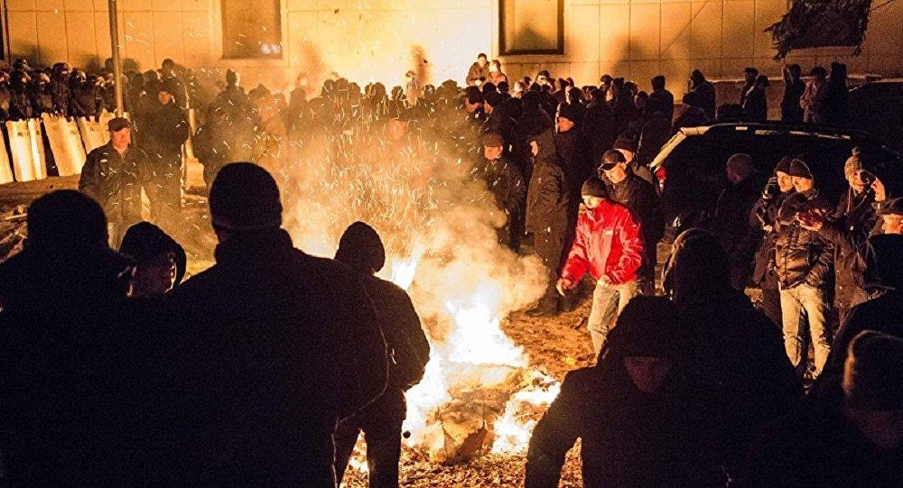 Акция протеста в Кишиневе