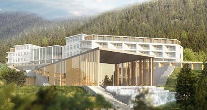 Проект гостиницы в Абастумани