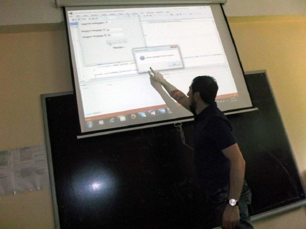 Грузинский кибер-ученый Ираклий Кардава. Архивное фото
