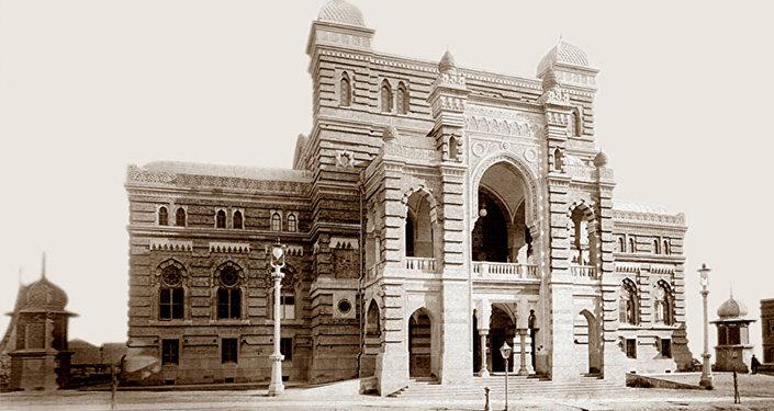 Из истории Тбилисской оперы, архивное фото.