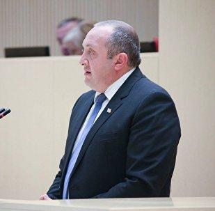 Маргвелашвили в парламенте
