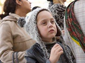 Акция в поддержку детей, страдающих синдромом Дауна