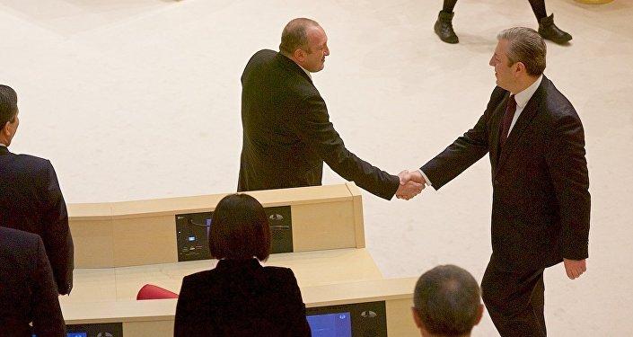Георгий Маргвелашвили и Георгий Квирикашвили