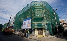 Реконструкция проспекта Агмашенебели.