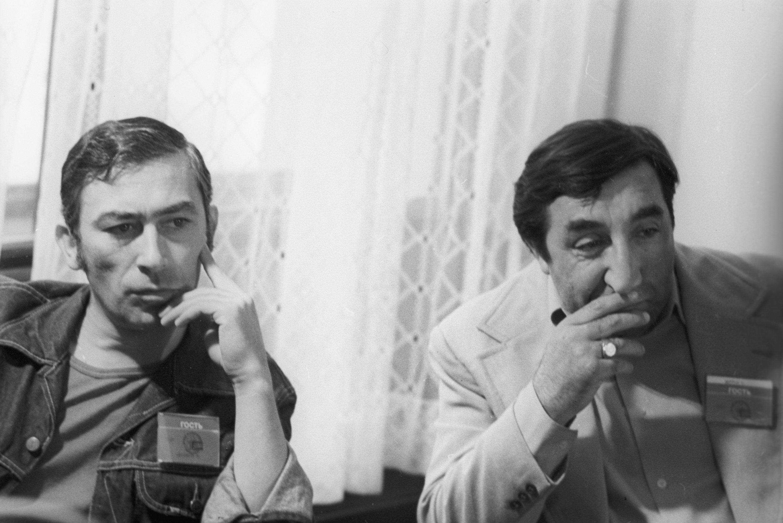Вахтанг Кикабидзе и Фрунзик Мкртчян