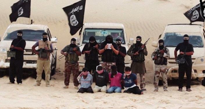 Члены террористической организации ИГИЛ