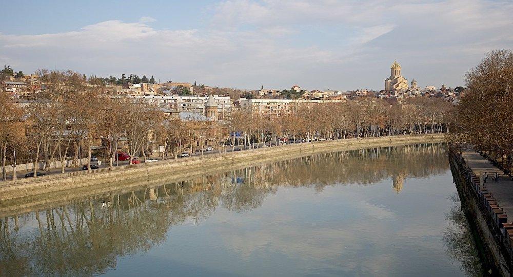 Набережная Тбилиси