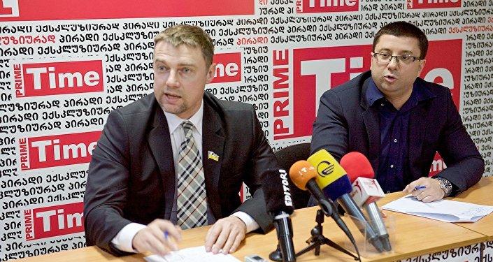 Лидеры УКРОПа раскритиковали Саакашвили и его команду