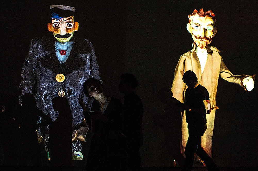 Куклы Театра Марионеток Резо Габриадзе.