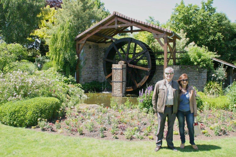 Винсент Деланоэ со своей супругой