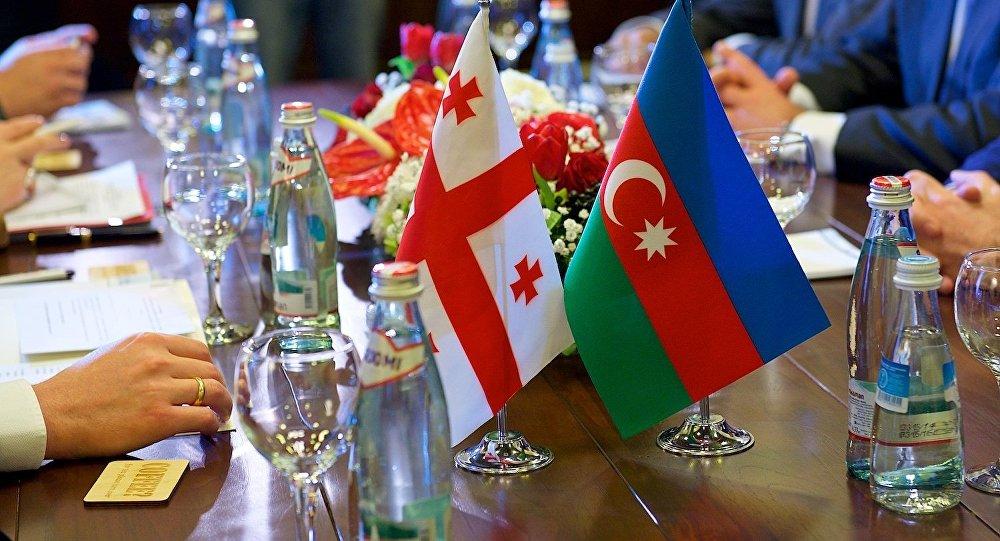 Встреча глав МИД Азербайджана и Грузии