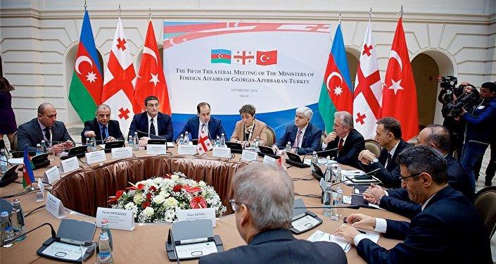 Встреча на уровне министров иностранных дел Азербайджана, Грузии и Турции