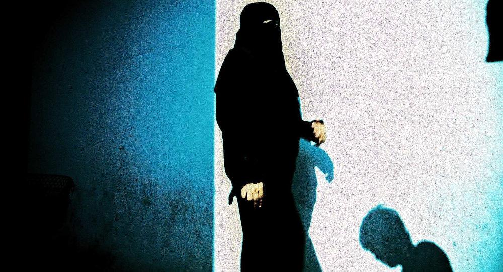მუსლიმი ქალი ხიჯაბში