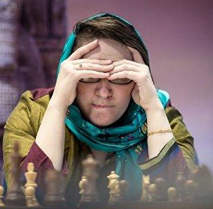 Грузинская шахматистка Нана Дзагнидзе
