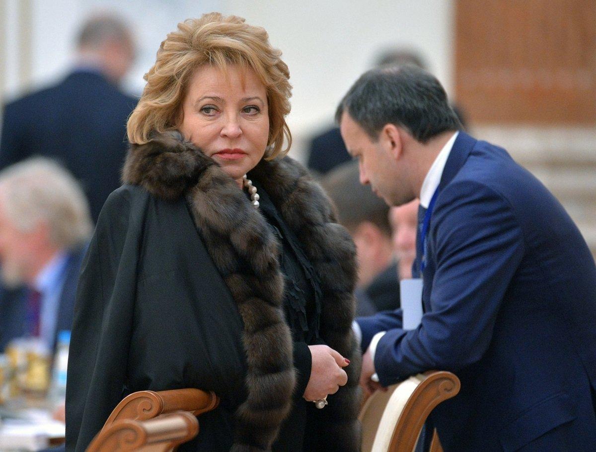 Заседание Высшего Государственного Совета Союзного государства. Валентина Матвиенко