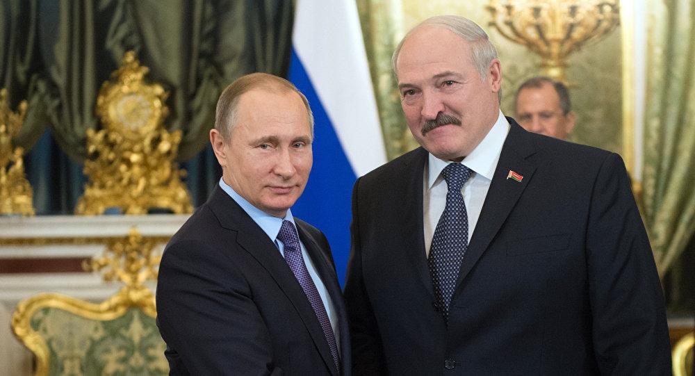 Президент РФ В.Путин провел российско-белорусские переговоры