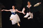 Нино Ананиашвили выступает на сцене Тбилисского театра оперы и балета