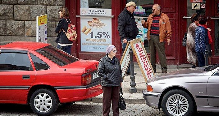 Жители грузинской столицы