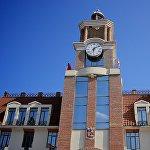 Городская администрация Сигнахи сегодня размещается вот в таком здании.