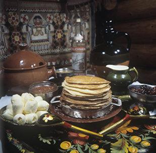 Блины - блюдо русской кухни