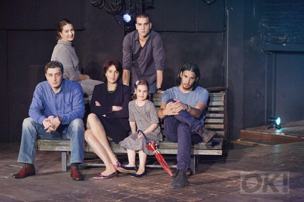 მსახიობი ზურა გეწაძე ოჯახთან ერთად