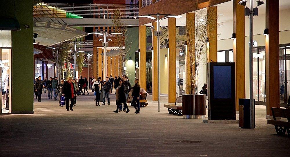 Один из тбилисских торговых центров