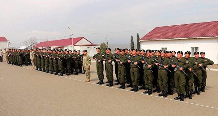 Новобранцы департамента охраны стратегических объектов