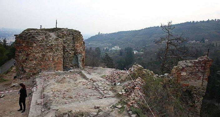 Археологические раскопки на участке Шахтахти дедацихе
