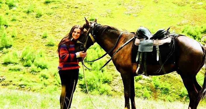 Саломе Идоидзе, единственная в Грузии женщина-рейнджер