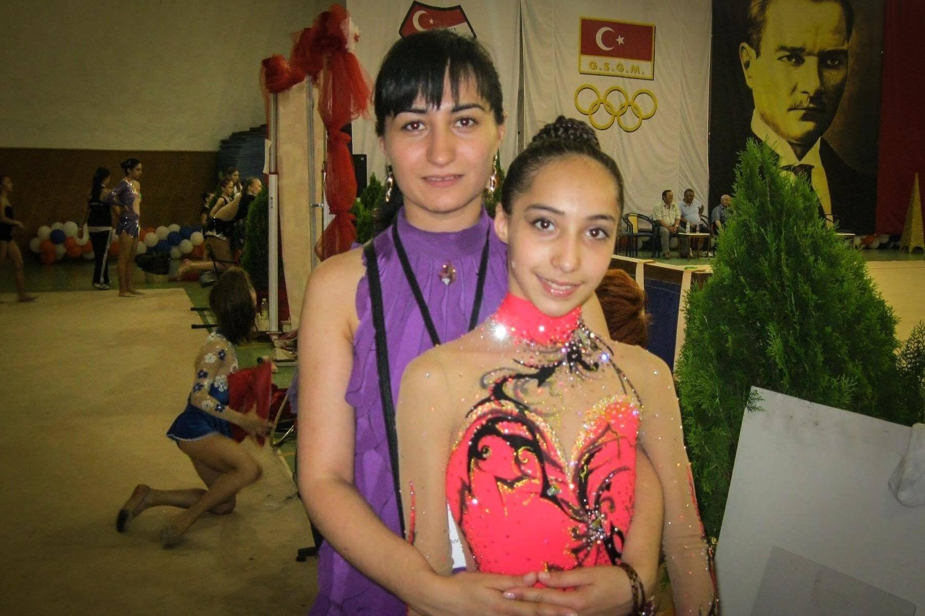 Саломе Пажава с мамой