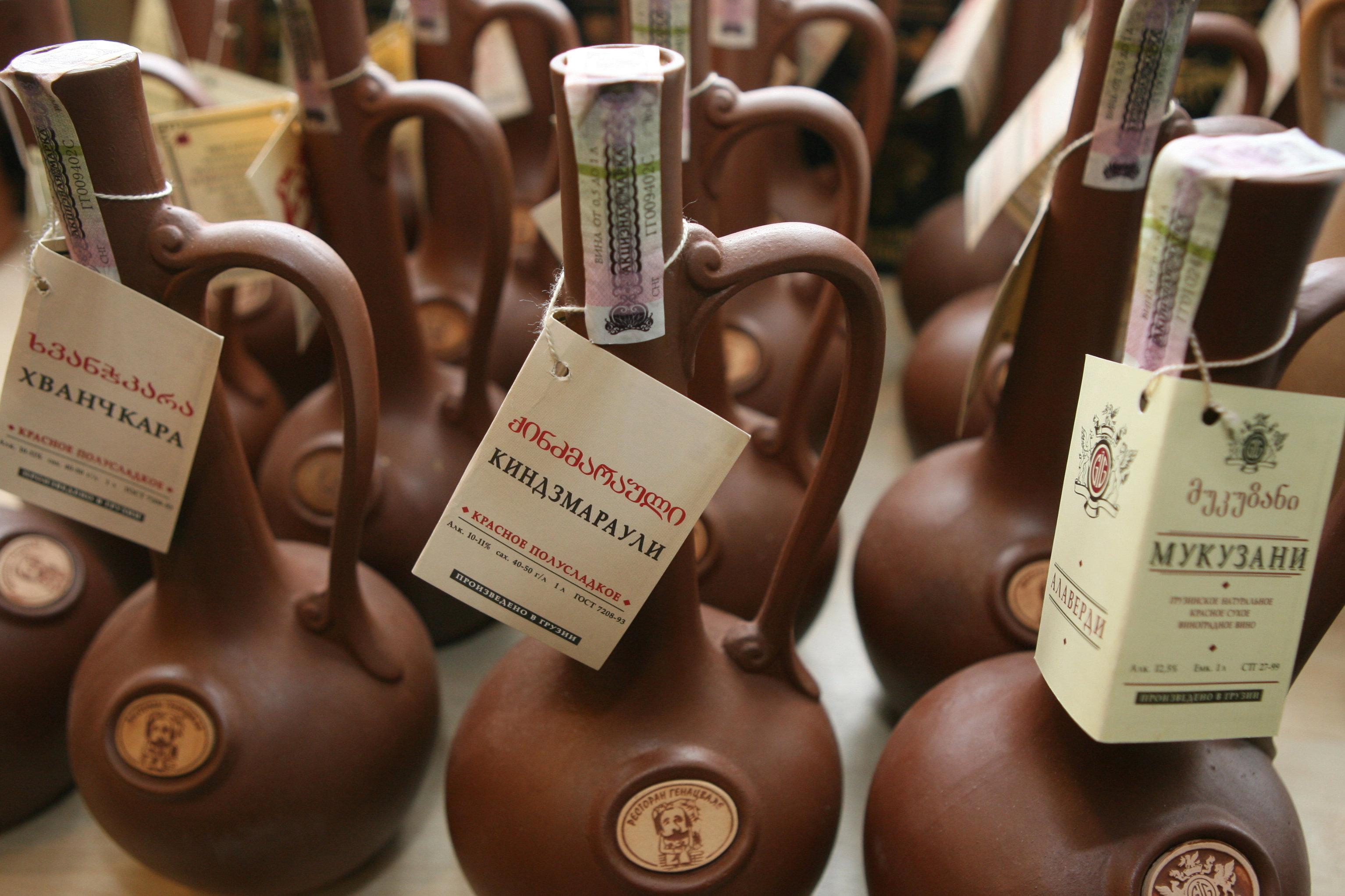 ქართული ღვინო რუსულ დახლებზე
