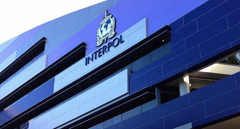INTERPOL-ის ლოგოტიპი